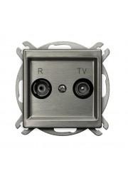 Gniazdo RTV przelotowe