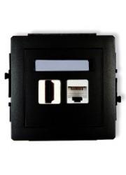 Gniazdo HDMI + komputerowe...