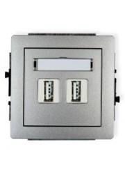 Gniazdo podwójne USB...