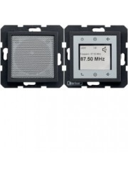 Radio Touch komplet antracyt