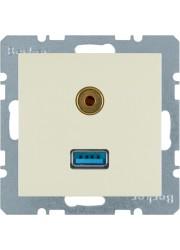 Gniazdo USB/3,5 mm audio