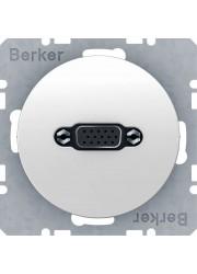 Gniazdo VGA białe