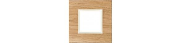 Ramki instalacyjne - drewno
